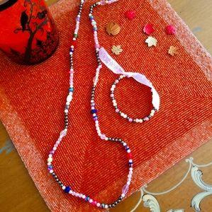 Jewelry - Handmade necklace and bracelet